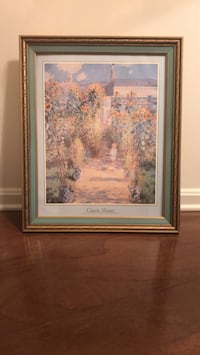 Framed Claude Monet poster. Excellent condition Rockville, 20852
