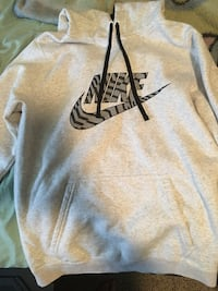 gray and black Nike pullover hoodie Jeffersonville, 47130