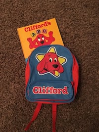 Clifford Backpack & Book 1072 mi