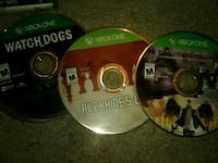 video game lot Ps2/PS3/Xbox one/Xbox 360   Fort Washington, 20744
