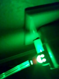 green LED light charger for iphone