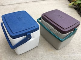 Coleman Cooler - 2 colors to choose from.