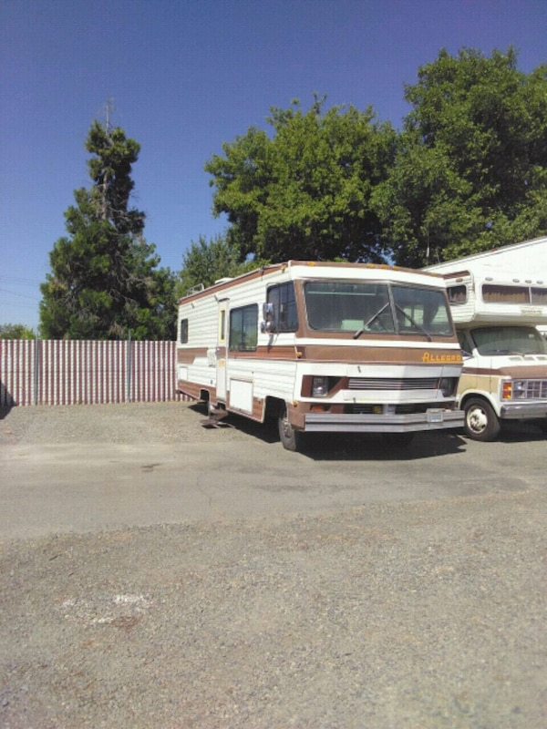 Used White And Brown Rv Trailer For Sale In Rio Linda