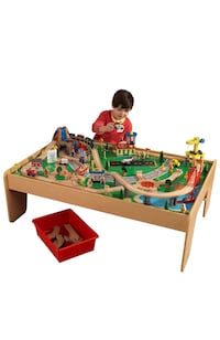 KidKraft train set and table Remlap, 35133