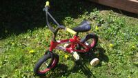 toddler's red and white bicycle with training whee Warren, 48088