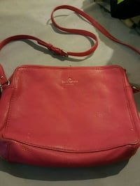 red leather 2-way bag Burlington, L7R 2J9