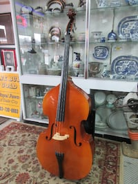 Karl Knilling 3/4 Upright Bass 1302T Jazz Instrument Soft Case & Bow STAFFORD