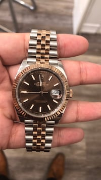 Rolex datejust ii two tone rose gold 41mm 2016 with box and papers Toronto, M5N 1A3
