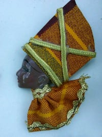 African Queen Brooch