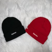 Supreme X New Era Beanies Red Available Surrey, V4N 1B6