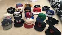 assorted color fitted caps lot Kitchener, N2N 3B4