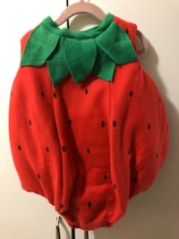 Strawberry toddler costume  Mississauga, L5M