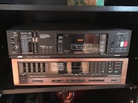 JVC RECEIVER AND CASSETTE DECK Toronto, M9M 1J4