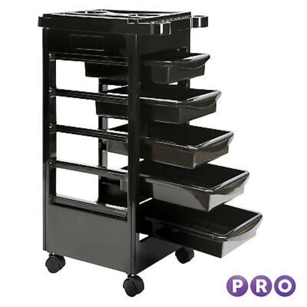 Salon Spa Trolley Storage Cart Coloring Beauty Rollabout Hair Blow Dryer Holder.... CHECK OUT MY PAGE FOR MORE ITEMS