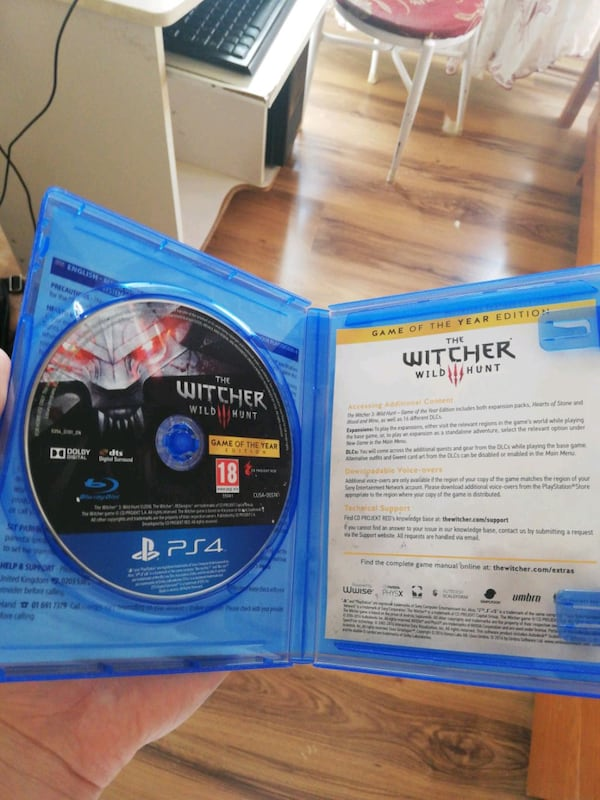 Witcher 3 Game of the year edition, PS4, Türkçe 1