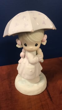 white ceramic angel figurine table decor Vaughan, L4K 4Y2