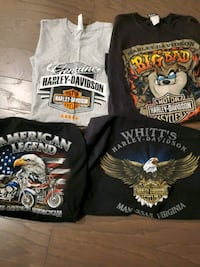 Lot Harley Davidson t shirts xl Lake Frederick, 22630