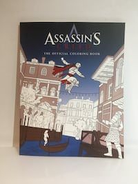 Assassins Creed colouring book Mississauga, L5C