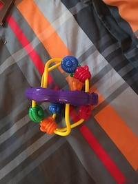 baby's yellow, purple, and red plastic toy Granby, J2G