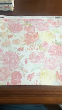 12x12 Watercolor Florals Paper Pack New York