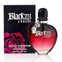 New Paco Rabanne Black XS L'Exces for Her Perfume Mississauga, L5B 1K5