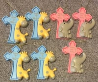 New Baby's First Cross ~ Bless This Baby ~ Easter Cross ~$3 Each West Jordan, 84088