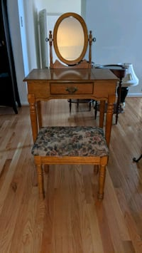 Make-up Table and Stool