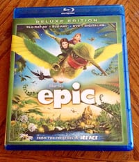 (NEW) EPIC Dvd. Comes with 3 discs. No scratches Milton, 05468