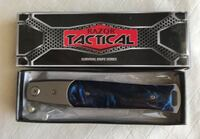 """Stiletto knife Spring Assist 8.5"""" overall, 4"""" blade. NEW in the box Las Vegas, 89102"""