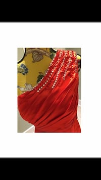 Vibrant red elegant floor length gown Ajax, L1S 3W5