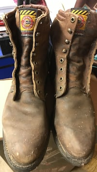 Very nice JUSTIN Boots Johnson City, 37604