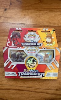 Pokémon trading card game: sun and moon trainer kit Annandale, 08801