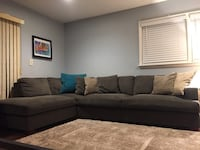 Gray sectional Lake Zurich, 60047