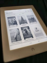 Nook Glowlight Plus with case and a charger. Portland, 97230