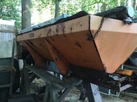 Sander yard and a half needs work if you're good with the welder this is a great project for you to drive chain stainless steel spinner box electric start interior cab controls . Brookhaven, 11779