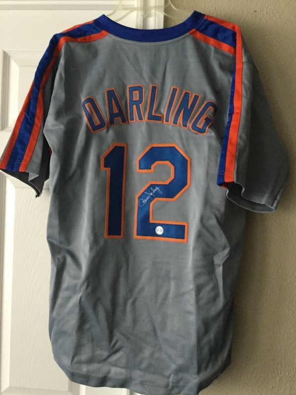 new concept 039e6 50858 Ron Darling Signed New York Mets Jersey