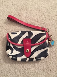 Leather Dooney and Bourke wristlet Centreville, 20121