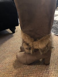 Long Brown Boots with Swarovski Coquitlam, V3B 2X7