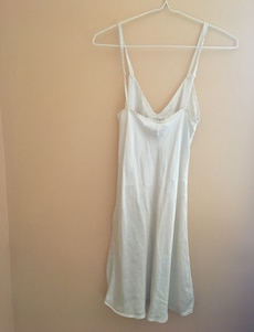 Willow blossom silk nightgown