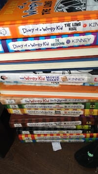 All of the diary of the wimpy kid books  Washington, 20003