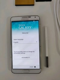 Samsung Galaxy Note 3 - 32GB, white Kitchener, N2R