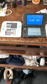 nintendo 3Ds XL &  2Ds       with 3games  & charger East Orange, 07017