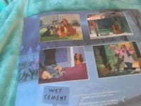 4 lithographs lady and the tramp pictures Deerfield Beach, 33441