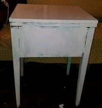 Vintage Singer Sewing Cabinet Table