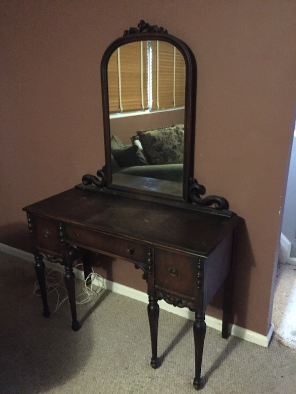 Antique Dressing Table/Vanity
