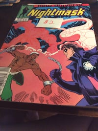 JUST REDUCED comic New Universe Nightmask    Rockville
