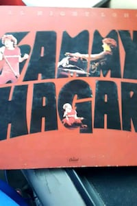 "Sammy Hagar ""All Night Long"" vinyl album La Plata, 20646"