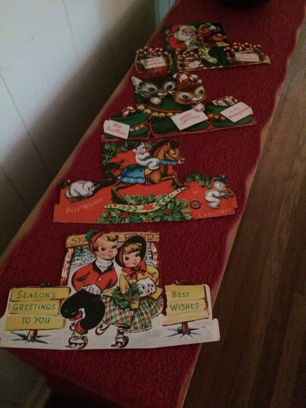 Used Eight Vintage Christmas Cards for sale in Decatur - letgo