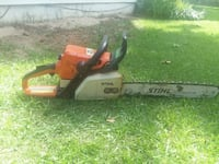 red, gray, and black STIHL chainsaw Midland City, 36350