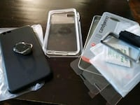 Iphone plus 6,6s and 7 tempered glass(2) + cases Mississauga, L5C